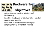 Lesson 1 what is biodiversity
