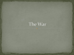 The War PPT