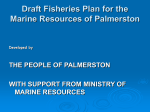 Draft Fisheries Plan Palmerston