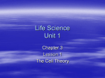 Life Science U1C3L1 - secondary