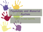 CN Feudalism and Manorial System File