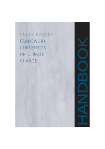 UNITED NATIONS FRAMEWORK CONVENTION ON