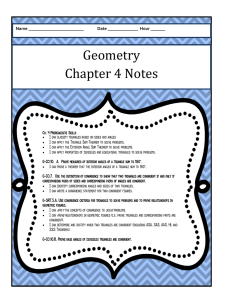 Chapter 4 Notes - Stevenson High School