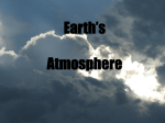 Earth`s Atmosphere 2017