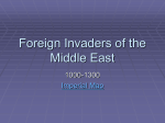 Foreign Invaders of the Middle East