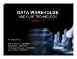 data warehouse - Computer Science, Stony Brook University