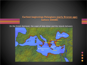 Early periods in Greece.pps
