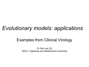 Phylogenetics in clinical virology_2012