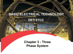 Chapter 3 - Three Phase System