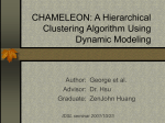 CHAMELEON: A Hierarchical Clustering Algorithm Using Dynamic