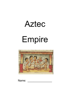 Aztec Empire Tenochtitlan