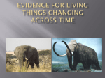 Evidence for Change Across Time