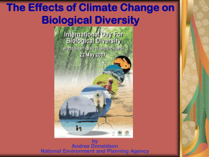 Effects of Climate C..