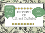 ECONOMY OF US and CANADA