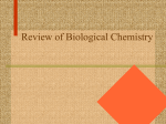 Review of Biological Chemistry