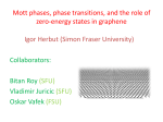 Mott phases and phase transitions in graphene