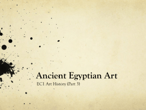 Ancient Egyptian Art Powerpoint (Part 3)