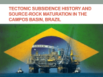 Tectonic subsidence history and source