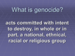 What is genocide? - Brandywine School District