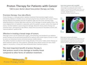 Proton Therapy for Cancer - SCCA Proton Therapy Center