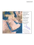 Red Sea Mediterranean Sea Persian Gulf Euphrates River Tigris