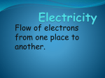 Electricity - World of Teaching