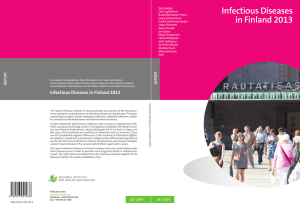 Infectious Diseases in Finland 2013