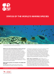 status of the world`s marine species