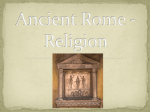 Ancient Rome - Relgion