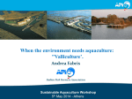 Sustainable Aquaculture Workshop