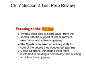 Ch. 7 Section 2 Test Prep Review