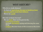 WHY HISTORY? - Pottstown School District