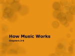 How Music Works I