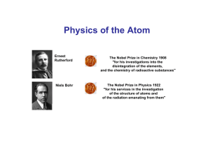 Physics of the Atom