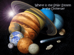 Where is the Solar System in the Universe?