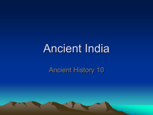 Ancient India - hrsbstaff.ednet.ns.ca