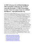 Ai 2003 Advances In Artificial Intelligence 16th Australian
