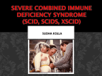 Severe combined immune deficiency syndrome