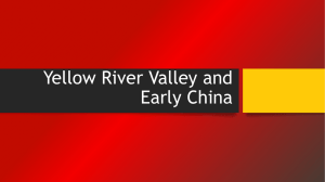 Yellow River Valley and Early China
