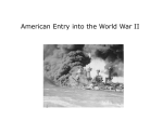American Entry into the World War II