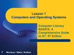Lesson 1 Computers and Operating Systems PPT