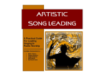Artistic Song Leading (Lesson 2)