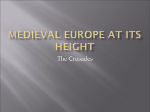 Medieval Europe at Its Height