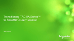 Why transition TAC I/A Series to SmartStruxure solution?