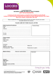 Locala Dental Care REFERRAL FORM FOR DENTAL