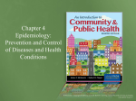Epidemiology: Prevention and Control of Diseases and Health