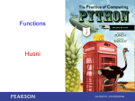 Functions Husni