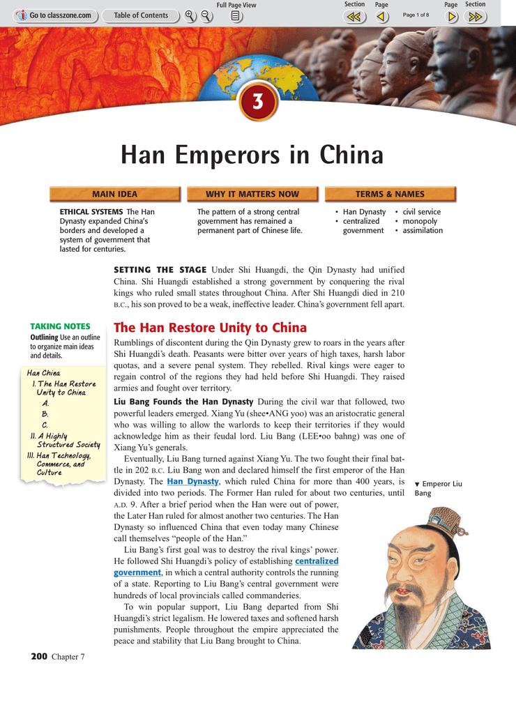 nomadic raiders during han dynasty