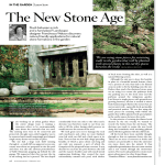 The New Stone Age - Franchesca Watson