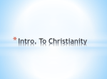 Origins of Christianity